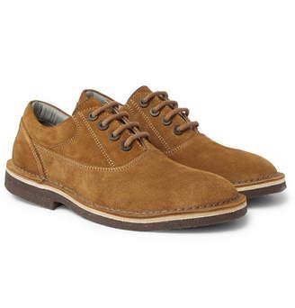 Lanvin Suede Derby Shoes