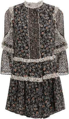 Ulla Johnson Essie Noir Mini Dress