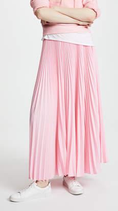 LEHA Long Pleats Skirt