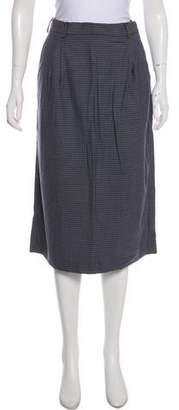 Miu Miu 2018 Virgin Wool Midi Skirt