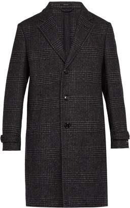 Ermenegildo Zegna Single-breasted alpaca and wool-blend overcoat