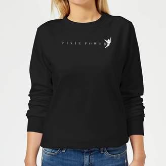 Disney Peter Pan Tinkerbell Pixie Power Women's Sweatshirt