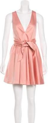 Rachel Zoe Satin A-line Dress