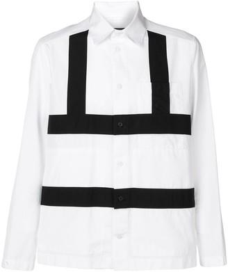 Craig Green contrast panel shirt
