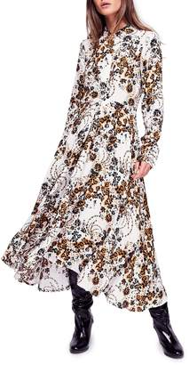 Free People Tough Love Maxi Shirtdress