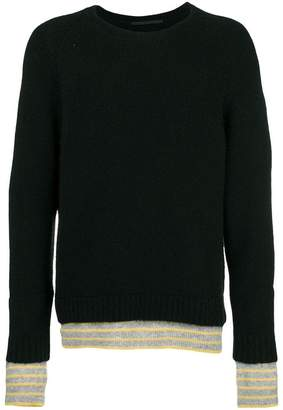 Haider Ackermann double knit sweater