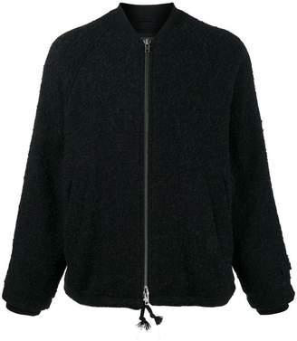 Ann Demeulemeester Boucle bomber jacket
