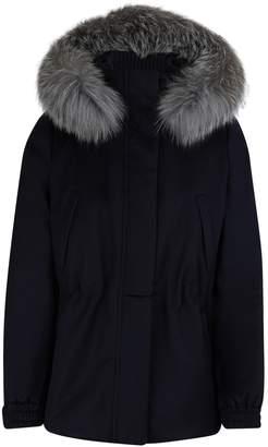 Loro Piana Fur trim jacket