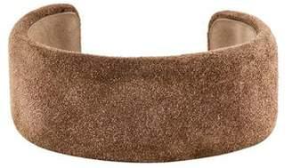 Brunello Cucinelli Suede Leather Cuff