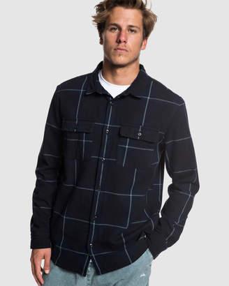 Quiksilver Mens Hama Trip Long Sleeve Shirt