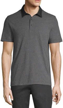 AXIST Axist Short Sleeve Woven Polo Shirt