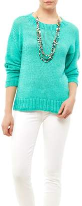 Dc Knits Comfy Cotton Turquoise Sweater