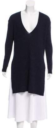 Cédric Charlier V-Neck Knit Tunic w/ Tags