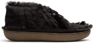 Prada Calf-hair desert boots