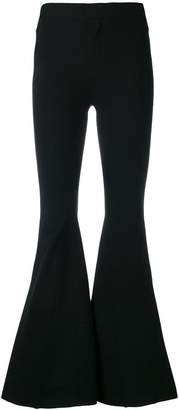 Givenchy fitted flared trousers