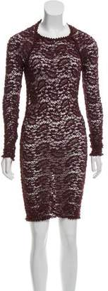 Etoile Isabel Marant Patterned Bodycon Dress