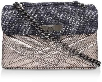 Kurt Geiger London Tweed Mayfair X Bag