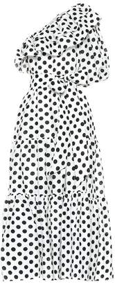 Lisa Marie Fernandez Arden polka-dot linen dress