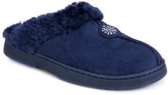 Muk Luks Fur Clog Slipper - Women's