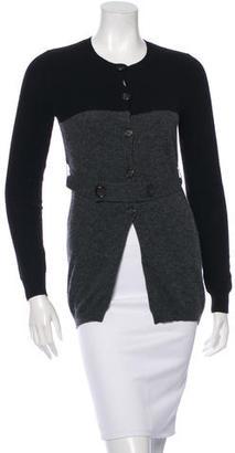 Vera Wang Long Sleeve Wool Sweater $85 thestylecure.com