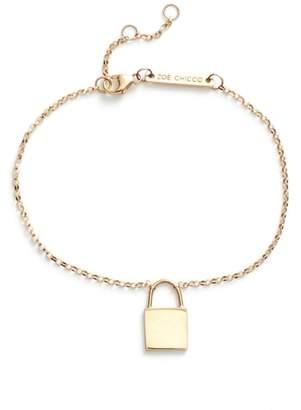 Chicco Zoe Small Padlock Bracelet