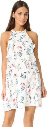 BB Dakota Elly Ruffle Column Dress $105 thestylecure.com