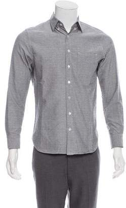 Wings + Horns Patterned Button-Up Shirt