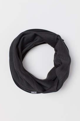 H&M Fleece Tube Scarf - Gray