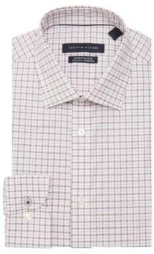 fd24a3e2 Tommy Hilfiger Slim-Fit Checkered Dress Shirt