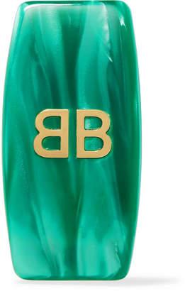 Balenciaga Gold-tone Resin Clip Earring