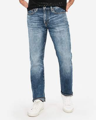 Express Classic Straight Light Wash 365 Comfort Stretch+ Jeans
