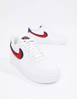 Nike Force 1 '07 Sneakers In White 823511-106