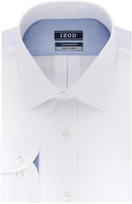 Izod Men's Slim-Fit Spread-Collar Wrinkle-Free Dress Shirt