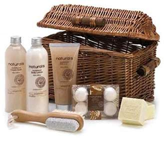FindingKing Sandalwood Naturals Spa Basket