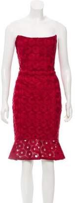 Nicholas Emboridered Mini Dress