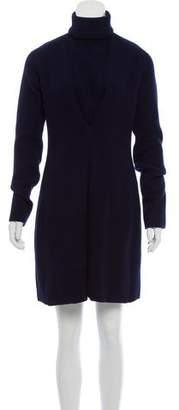 Damir Doma A-Line Wool Sweater Dress