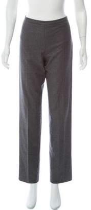 Agnona High-Rise Virgin Wool Pants