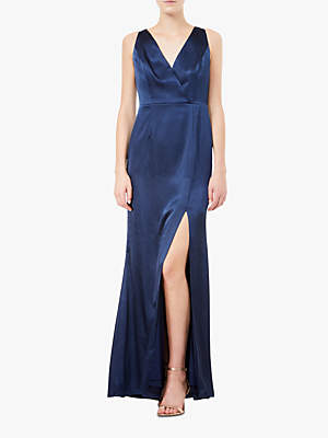 Adrianna Papell Hammered Maxi Dress