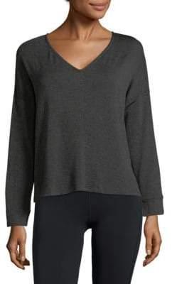 Eberjey Long Sleeve V-Neck Sweater