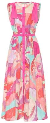 Emilio Pucci Beach Printed eyelet lace dress