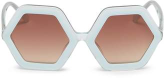 Sons+Daughters Eyewear 'Honey' hexagonal frame acetate kids sunglasses