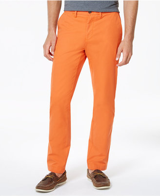 Tommy Hilfiger Men's Custom Fit Chino Pants $59.99 thestylecure.com