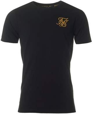 SikSilk Short Sleeved Venetian Roll T-shirt