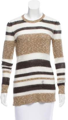 Jason Wu Striped Long Sleeve Sweater