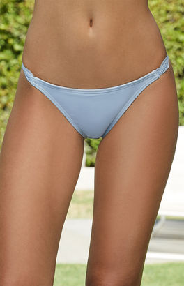 LA Hearts Lace Trim Cheeky Bikini Bottom $20.95 thestylecure.com