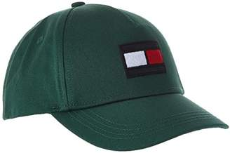7ddcceb4c Tommy Hilfiger Big Flag Baseball Cap, (Hunter Green 340), (Size:
