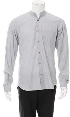 Orley Herringbone Wool Shirt w/ Tags