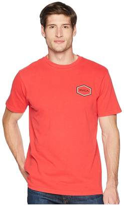 RVCA Double Hex Short Sleeve Men's Clothing