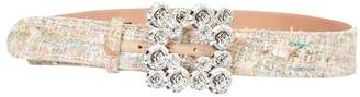 Blumarine Button Buckle Belt