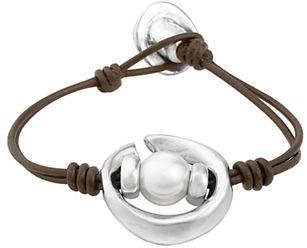 Uno de 50 Oasis Silver Bracelet